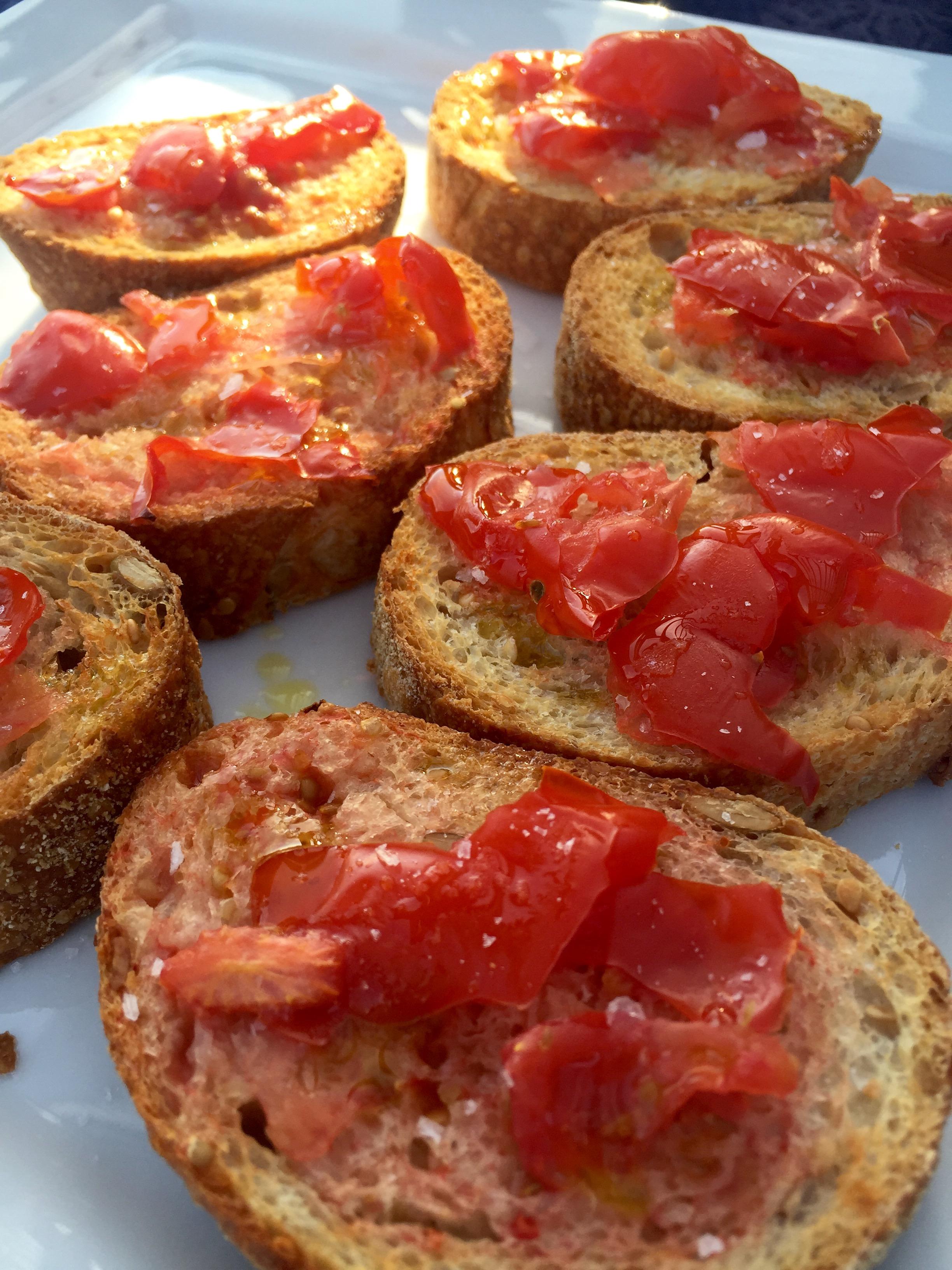 Tomatbrød med olivenolie