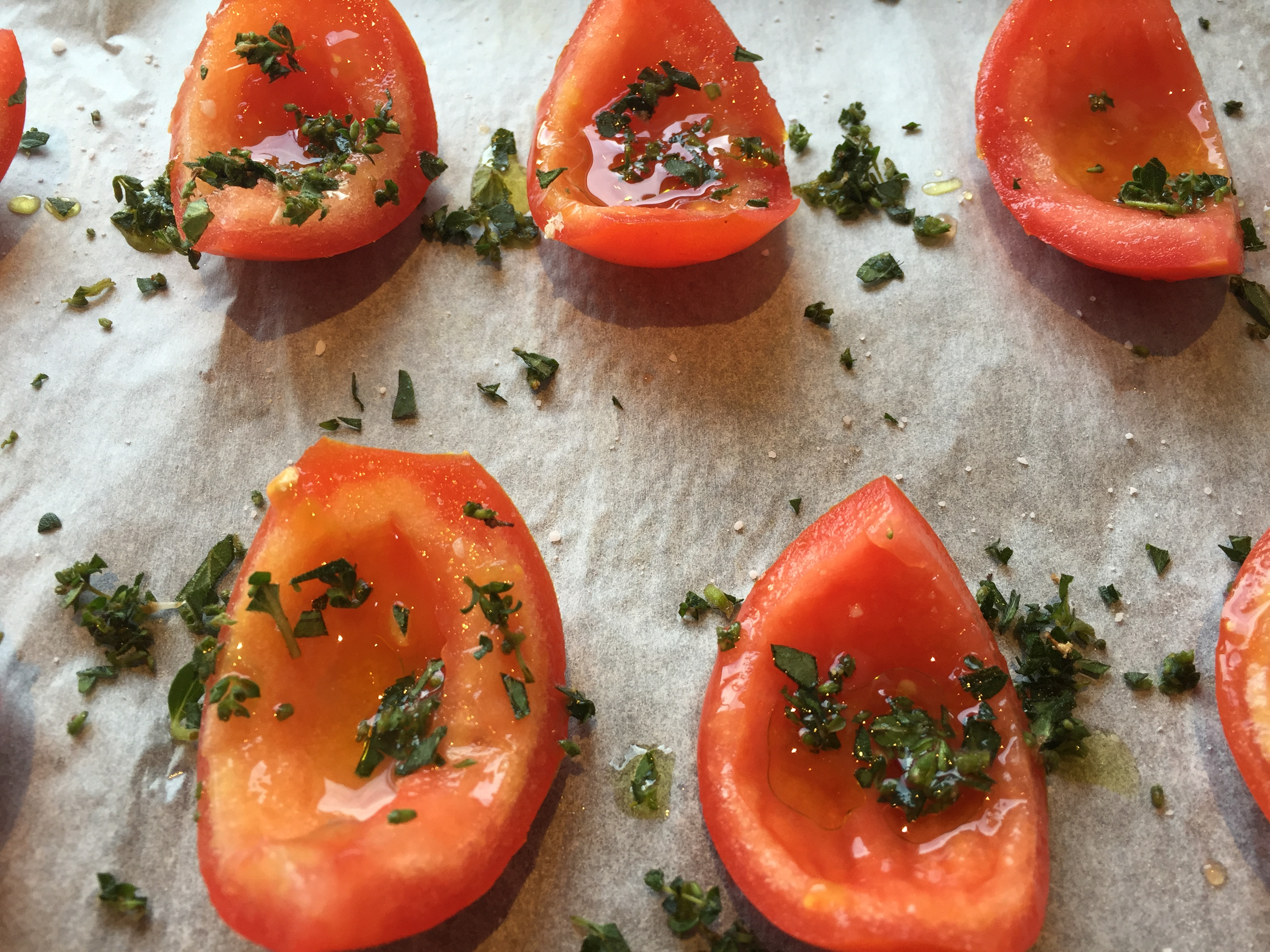 how to make semi dried tomatoes